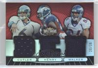 Jay Cutler, Travis Henry, Javon Walker /36