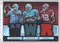 Calvin Johnson, Ted Ginn, Dwayne Bowe /36