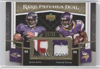 Jamal Lewis, Chester Taylor /25