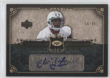 2007 UD Premier Insignias Autographs #IN-CS - Chansi Stuckey /99