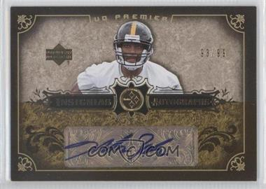 2007 UD Premier Insignias Autographs #IN-DB - Dallas Baker /99