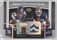Adrian Peterson, Marshawn Lynch /10