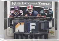 Marshawn Lynch, Adrian Peterson, Tony Hunt /25