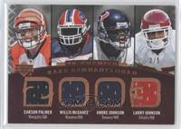 Larry Johnson, Andre Johnson, Carson Palmer, Willis McGahee /5