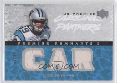2007 UD Premier Remnants 3 Silver #PR3-SS - Steve Smith /99