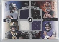 Tony Romo, Drew Brees /25