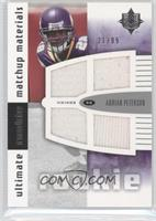 Adrian Peterson, Sidney Rice /99