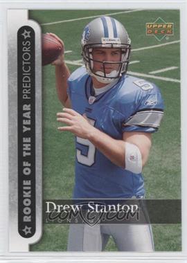 2007 Upper Deck - [???] #ROY-DS - Drew Stanton