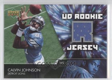 2007 Upper Deck - UD Rookie Jersey #UDRJ-CJ - Calvin Johnson