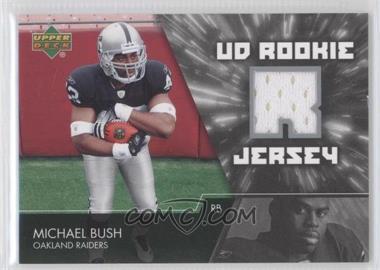 2007 Upper Deck - UD Rookie Jersey #UDRJ-MB - Michael Bush