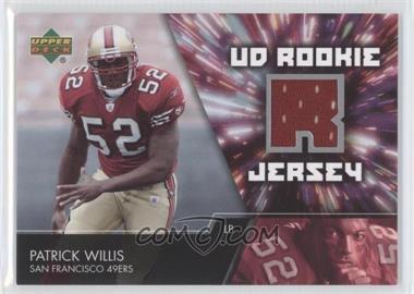 2007 Upper Deck - UD Rookie Jersey #UDRJ-PW - Patrick Willis