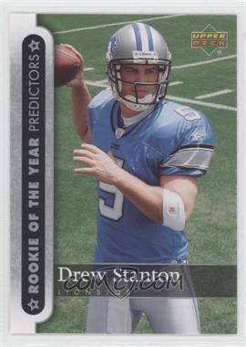 2007 Upper Deck [???] #ROY-DS - Drew Stanton