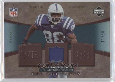2007 Upper Deck Artifacts - NFL Artifacts - Patch #NFL-HA - Marvin Harrison /50