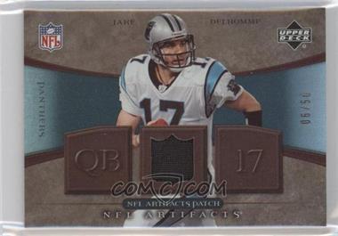 2007 Upper Deck Artifacts - NFL Artifacts - Patch #NFL-JD - Jake Delhomme /50