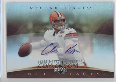 2007 Upper Deck Artifacts - NFL Facts - Autographs [Autographed] #NF-FR - Charlie Frye