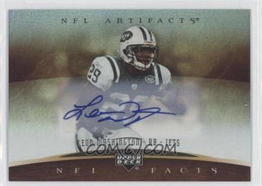 2007 Upper Deck Artifacts - NFL Facts - Autographs [Autographed] #NF-WAS - Leon Washington