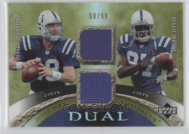 2007 Upper Deck Artifacts Dual Artifacts #DA-PR - [Missing] /99