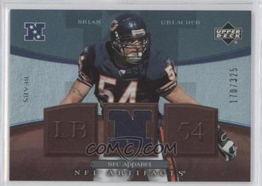 2007 Upper Deck Artifacts NFC Apparel #NFC-BU - Brian Urlacher /325