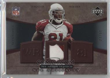 2007 Upper Deck Artifacts NFL Artifacts Patch #NFL-AB - Anquan Boldin /50