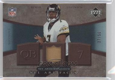 2007 Upper Deck Artifacts NFL Artifacts Patch #NFL-BL - Byron Leftwich /50