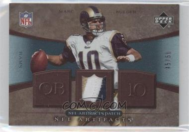 2007 Upper Deck Artifacts NFL Artifacts Patch #NFL-MB - Marc Bulger /50