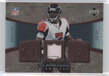 2007 Upper Deck Artifacts NFL Artifacts Patch #NFL-MV - Michael Vick /50