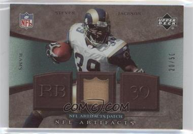 2007 Upper Deck Artifacts NFL Artifacts Patch #NFL-SJ - Steven Jackson /50