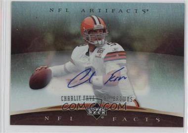 2007 Upper Deck Artifacts NFL Facts Autographs [Autographed] #NF-FR - Charlie Frye