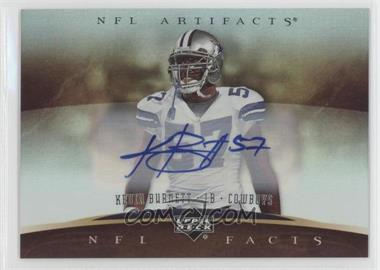2007 Upper Deck Artifacts NFL Facts Autographs [Autographed] #NF-KN - Kevin Burnett