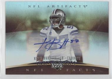 2007 Upper Deck Artifacts NFL Facts Autographs [Autographed] #NF-KN - Kevin Burnett