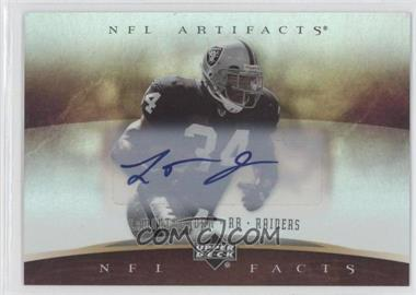 2007 Upper Deck Artifacts NFL Facts Autographs [Autographed] #NF-LJ - LaMont Jordan