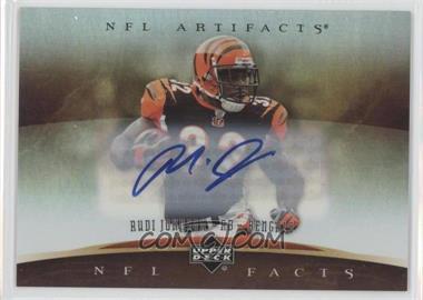 2007 Upper Deck Artifacts NFL Facts Autographs [Autographed] #NF-RJ - Rudi Johnson