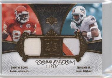 2007 Upper Deck Exquisite Collection [???] #ECP-BG - Dwayne Bowe