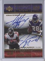 Adrian Peterson, Jerious Norwood /30