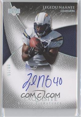 2007 Upper Deck Exquisite Collection Parallel 1 #92 - Legedu Naanee /60
