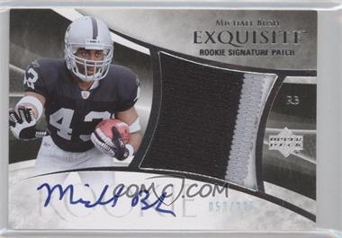 2007 Upper Deck Exquisite Collection #106 - Michael Bush /225