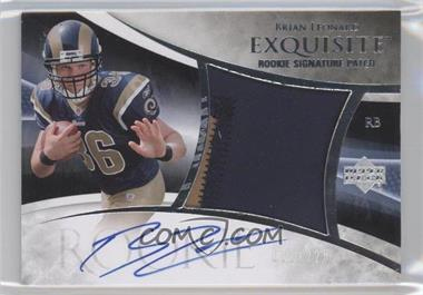 2007 Upper Deck Exquisite Collection #116 - Brian Leonard /225