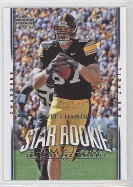 2007 Upper Deck Rookie Exclusives #259 - Scott Chandler
