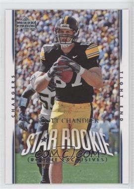 2007 Upper Deck Rookie Exclusives #259 - Scott Chandler