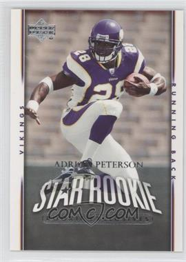 2007 Upper Deck Rookie Exclusives #279 - Adrian Peterson
