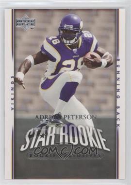 2007 Upper Deck Rookie Exclusives #279 - Adrian Peterson