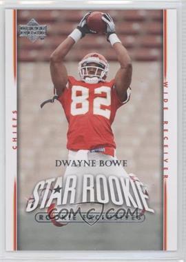 2007 Upper Deck Rookie Exclusives #285 - Dwayne Bowe