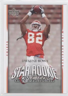 2007 Upper Deck Rookie Exclusives #285 - Dwayne Bowe