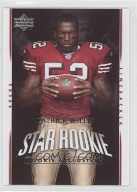 2007 Upper Deck Rookie Exclusives #288 - Patrick Willis