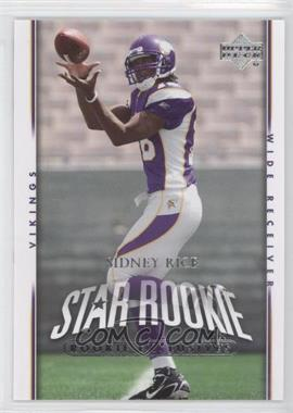 2007 Upper Deck Rookie Exclusives #293 - Sidney Rice