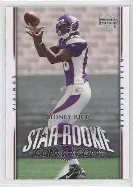 2007 Upper Deck Rookie Exclusives #293 - Sidney Rice