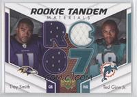 Troy Smith, Ted Ginn