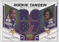Adrian Peterson, Sidney Rice