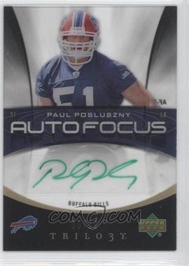 2007 Upper Deck Trilogy [???] #AF-PP - Paul Posluszny /99