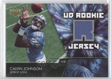 2007 Upper Deck UD Rookie Jersey #UDRJ-CJ - Calvin Johnson